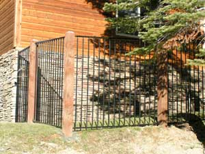 south shore fence company iron fencing