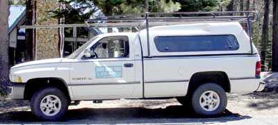 South Shore Fence Company Truck
